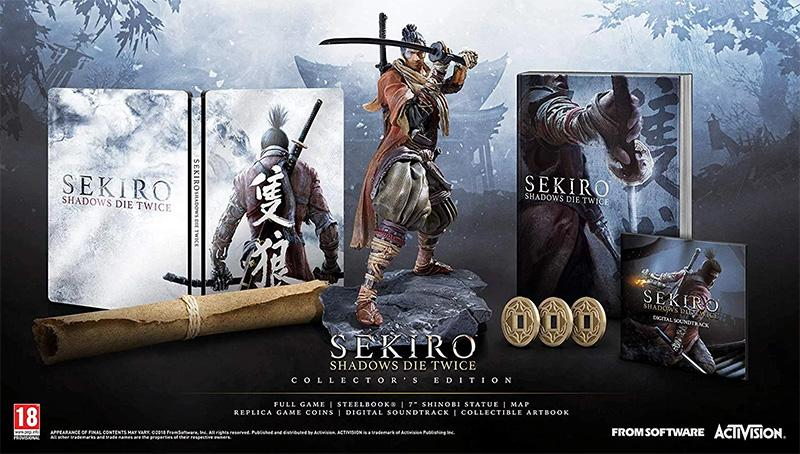 коллекционное издание Sekiro Shadows Die Twice