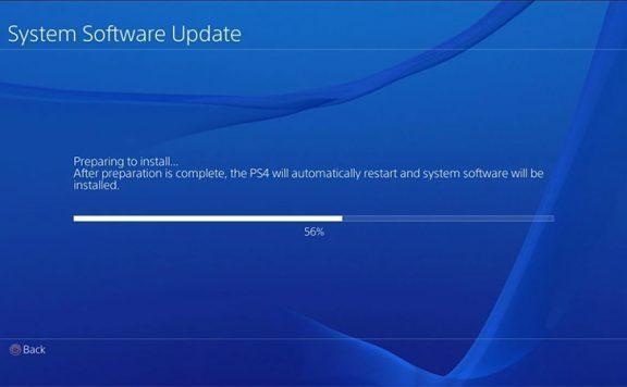 Новое обновление прошивки 6.51 для PlayStation 4