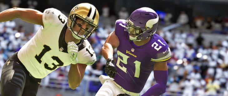 Обложка игры Madden NFL 21 для PS4