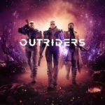 обложка диска игры Outriders 2021 PS5